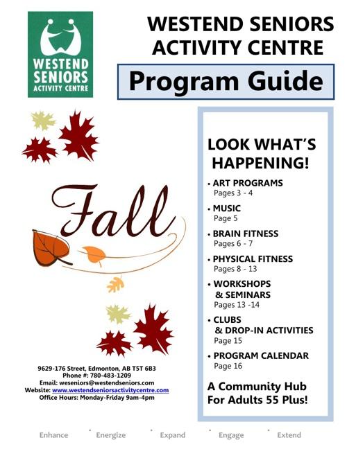 Fall Program Guide 2013