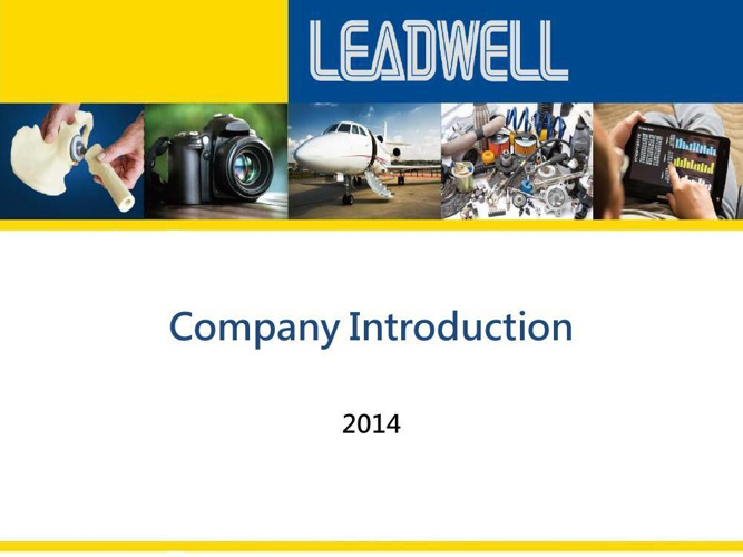 LEADWELL Company Introduction 2014
