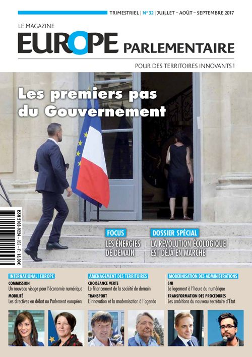 Europe parlementaire N° 32 juillet - août - septembre 2017