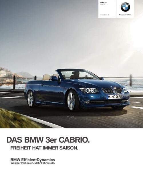 BMW 3er Cabrio. Das Elegante