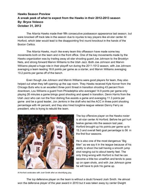 Atlanta Hawks Season Preview