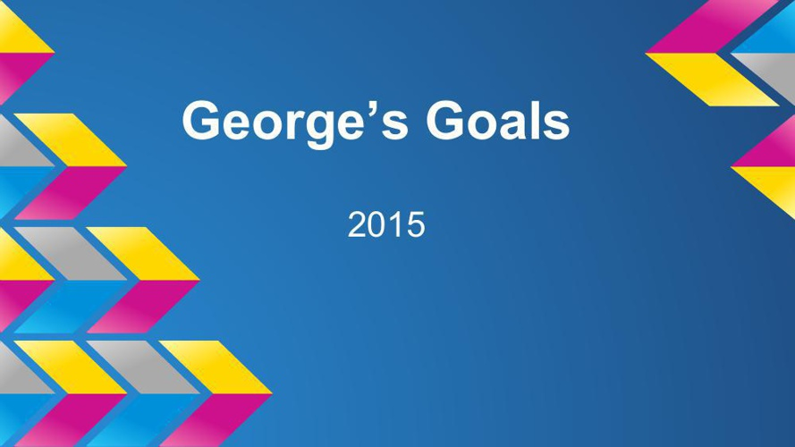Goal Setting Template George Cummings