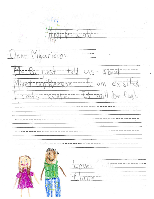 Recess Letters