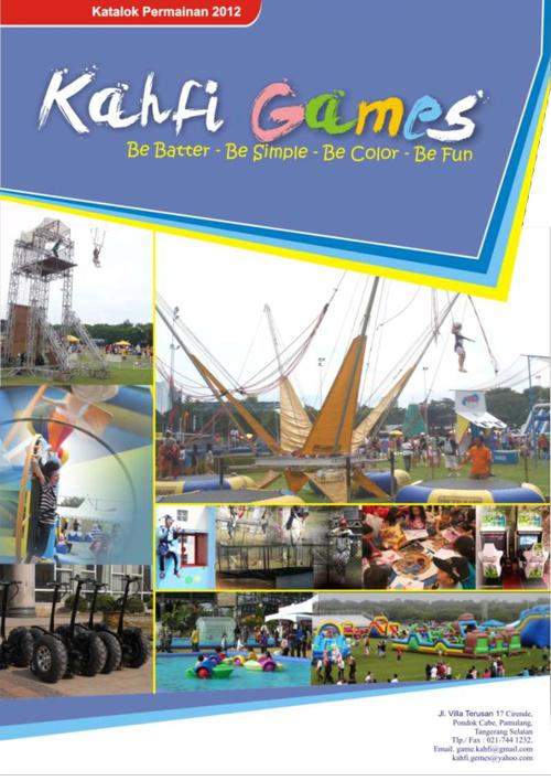 Katalog Permainan Kahfi 2012