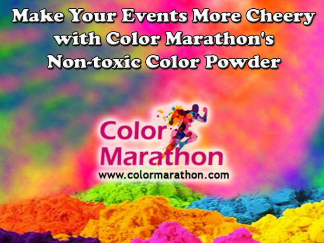 Celebrate Your Events with Holi Color Powder