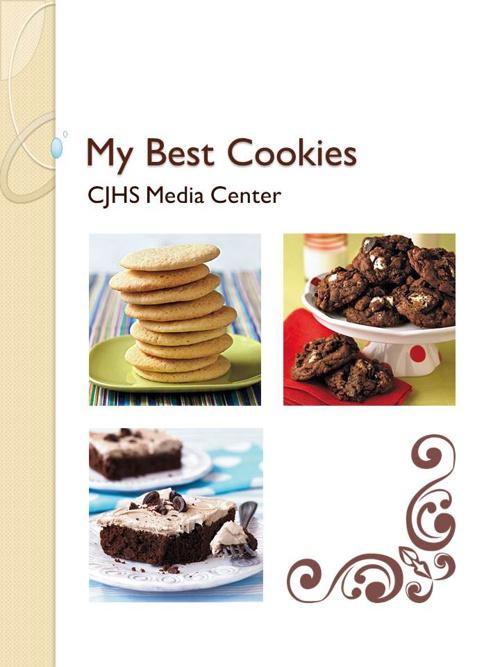 CJHS Recipe Book