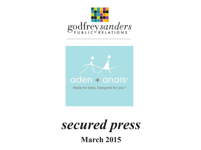 Secured press aden + anais March 2015