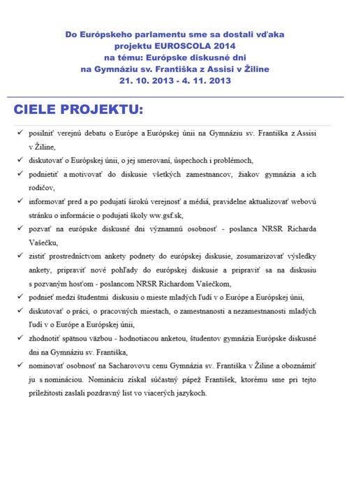 Euroscola 2014