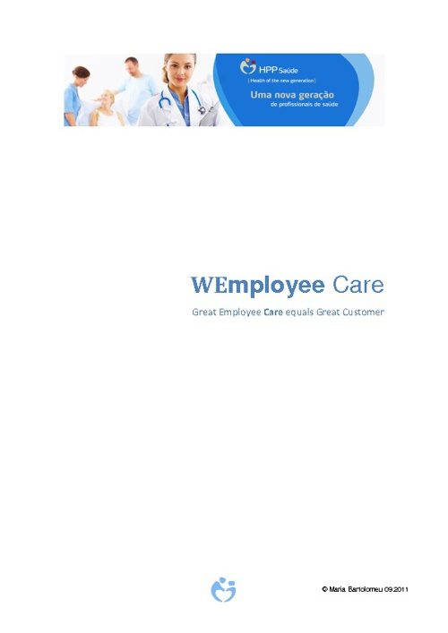 WEmployee Care HPP Saude