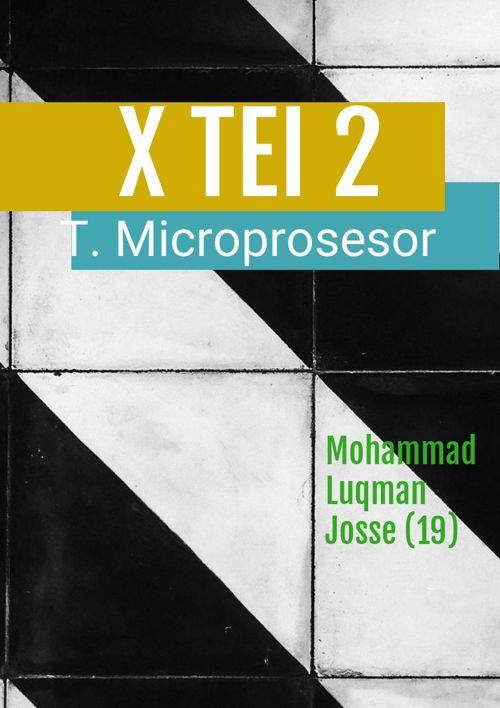 Remidi Teknik Microprosesor Semester 1
