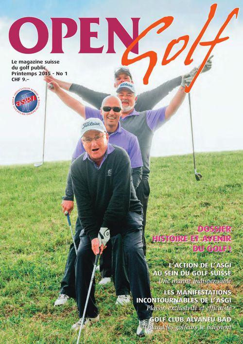 Open Golf - Printemps 2015