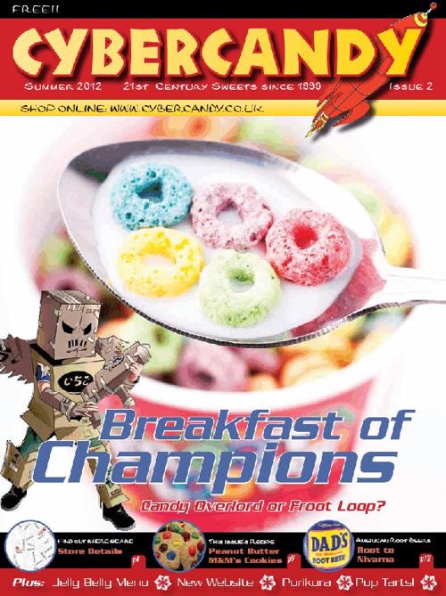 CyberCandy Summer 2012 Newspaper