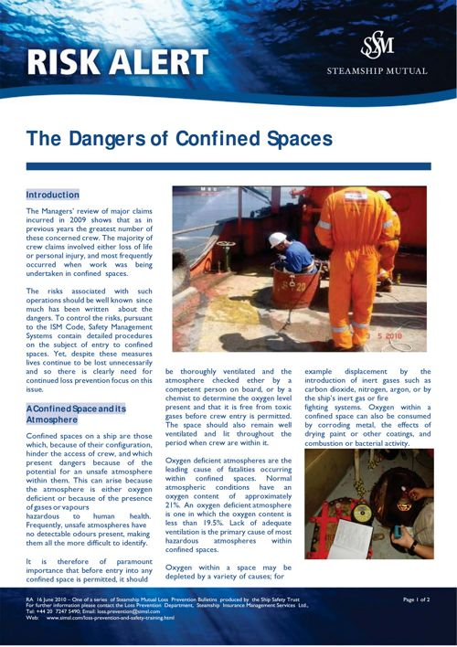 Marf010 Confined space notes.15.04.02 without pocket guide