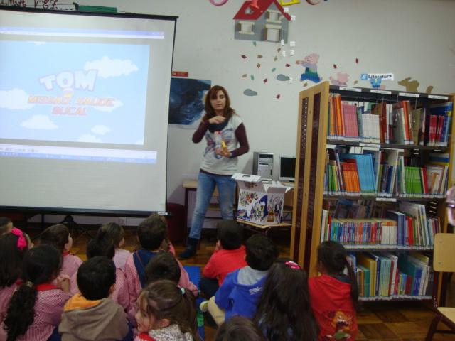 Saúde Oral nas Bibliotecas Escolares