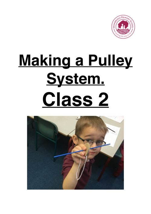 Making a pulley system