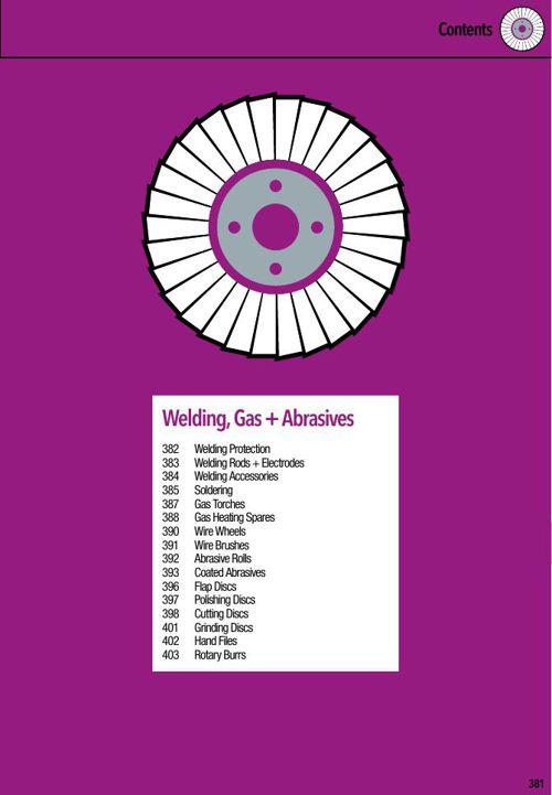 12-Welding, Gas + Abrasives