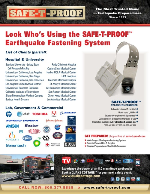 SAFE-T-PROOF Flyer