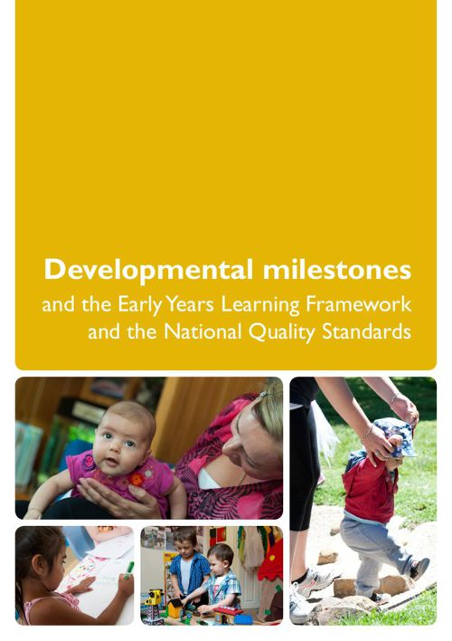 Reading:  Developmental milestones and the Early Years Learning