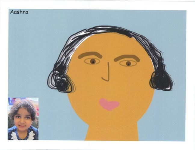 Class 1YC Self Portraits
