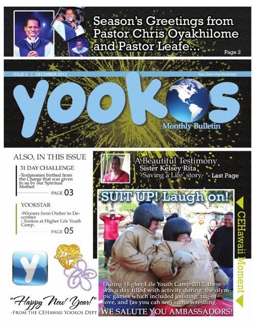 Yookos De2012 into 2013