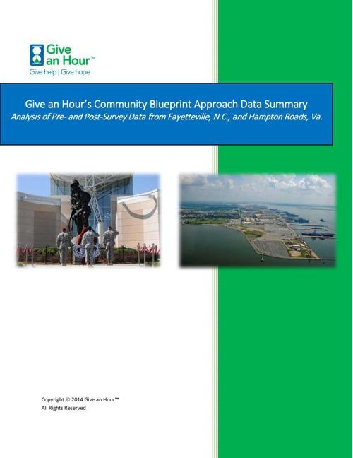 Copy of Copy of GAH Blueprint Data Analysis Report 2014