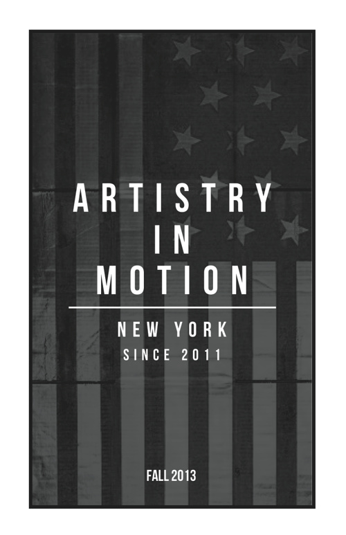 Artistry in Motion Fall/Winter 2013