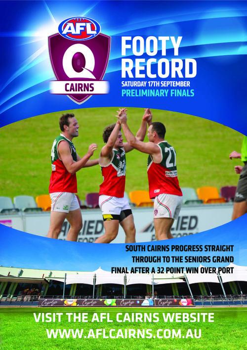 Footy Record Preliminary Final 2016
