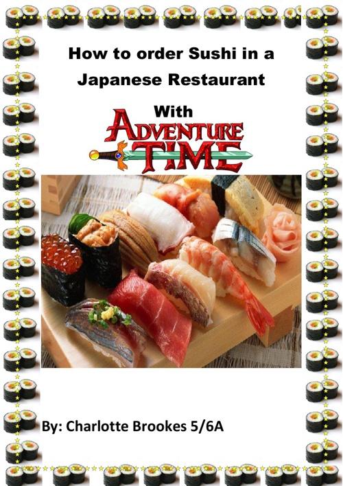 Ordering Sushi in Japanese