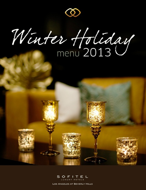 Holiday Menu 2013