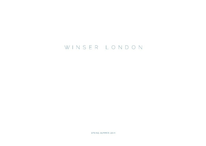 Winser London SS14 Lookbook