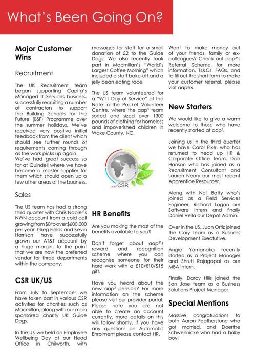 Your Quarterly Newspaaper
