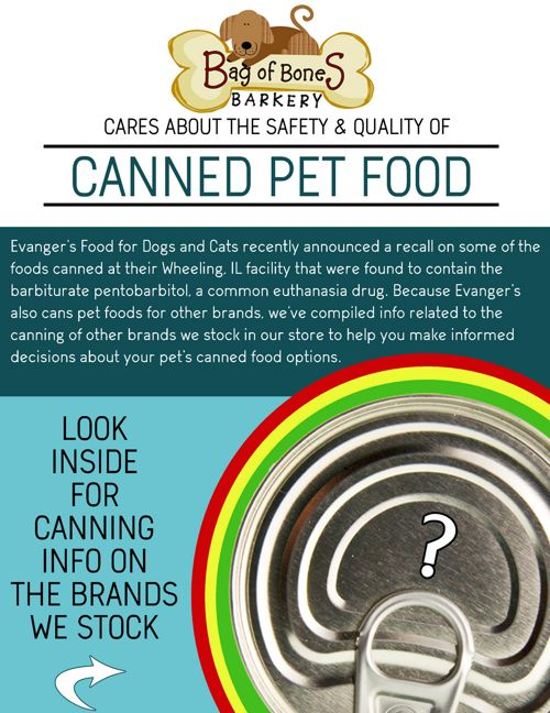 Canned Pet Food : Where Is It Made?