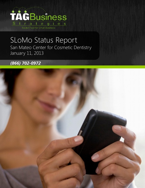 SMCCD Status Report 20130111