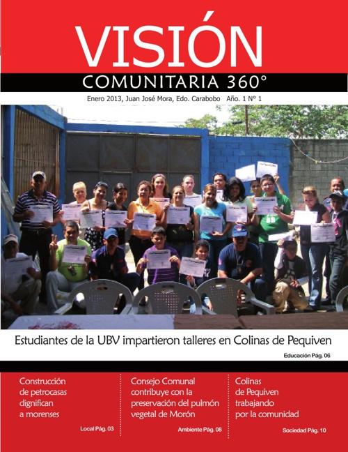 REVISTA VISIÓN COMUNITARIA 360 1era EDICIÓN