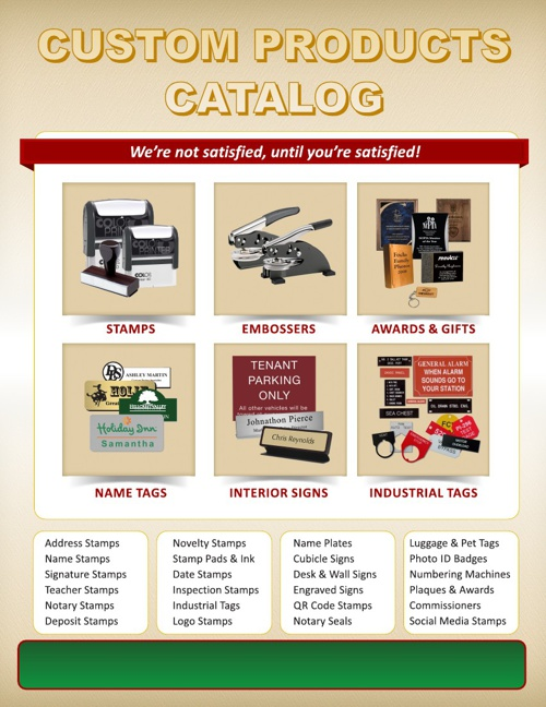 Dealer Catalog Dominion Stamps & Engraving