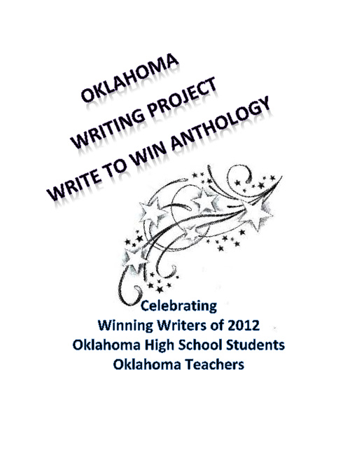 Write To Win High School and Teacher Anthology