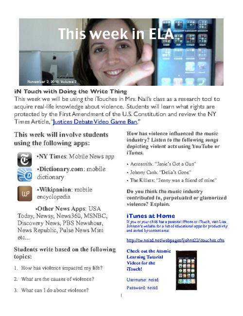 Techchef4U iPad Lessons