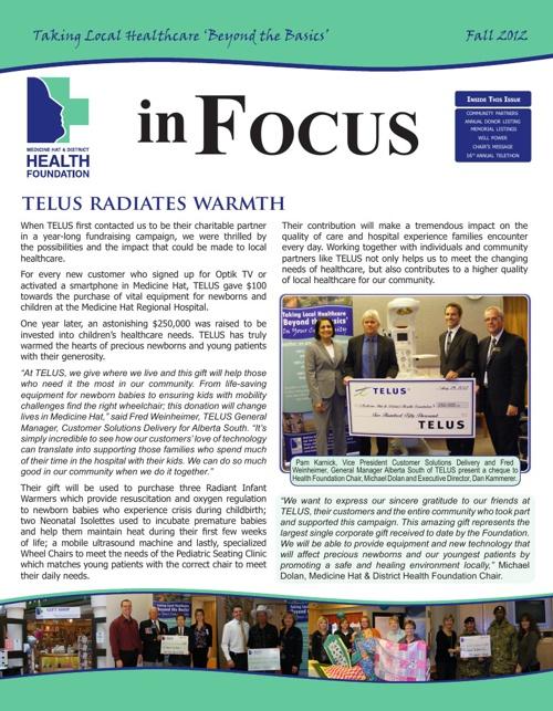 In Focus - Fall 2012
