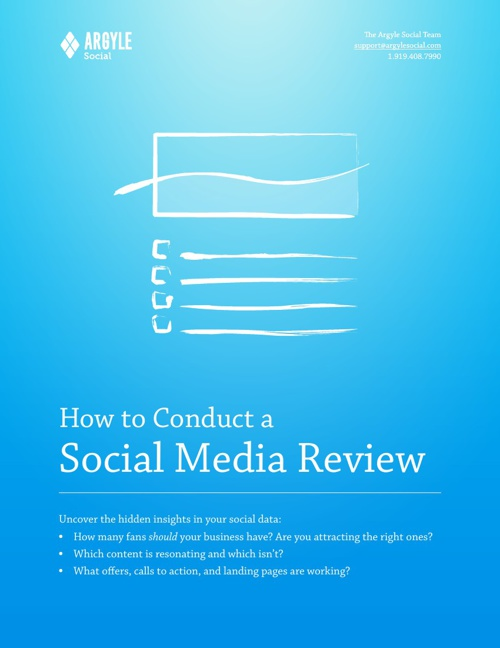 How to conduct a Social Media review