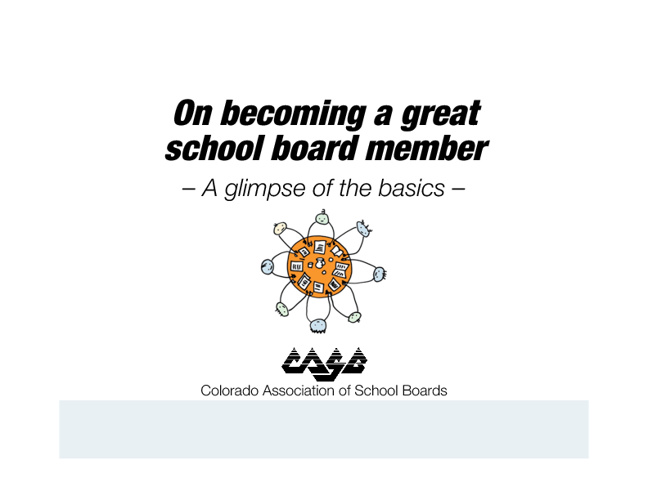 Candidates - On becoming a great board member