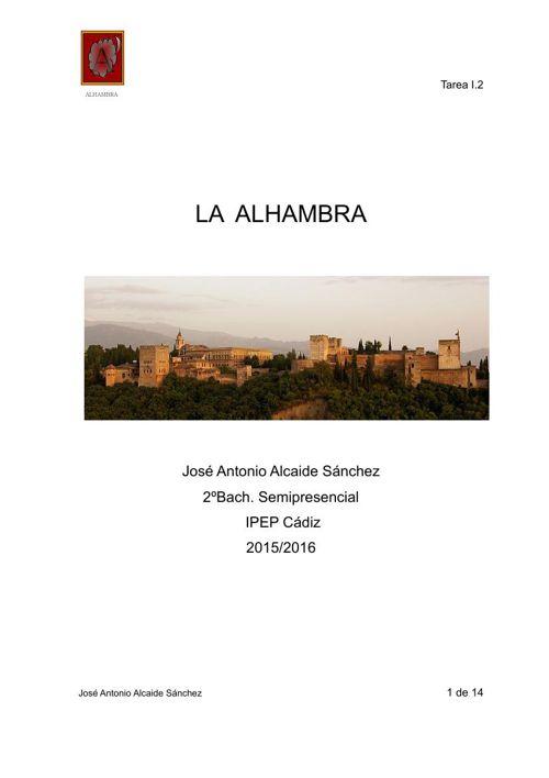 José Antonio Alcaide Sánchez - Tarea I.2