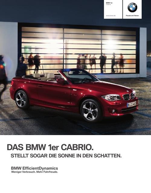 BMW 1er Cabrio. Das Einzigartige