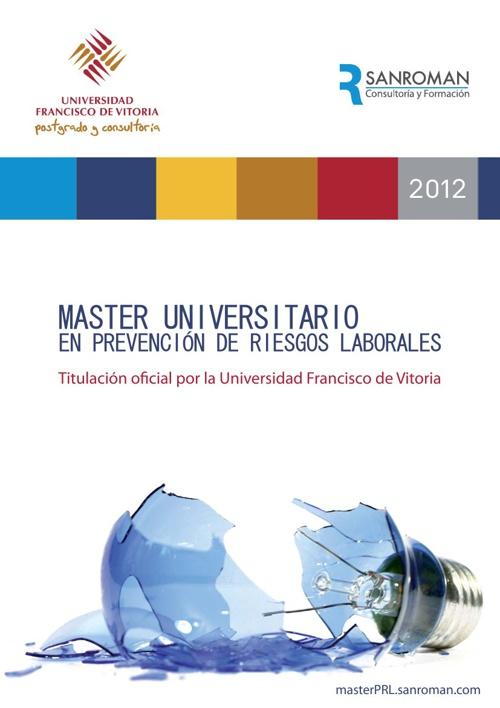 Catálogo Máster de Prevención de Riesgos Laborales