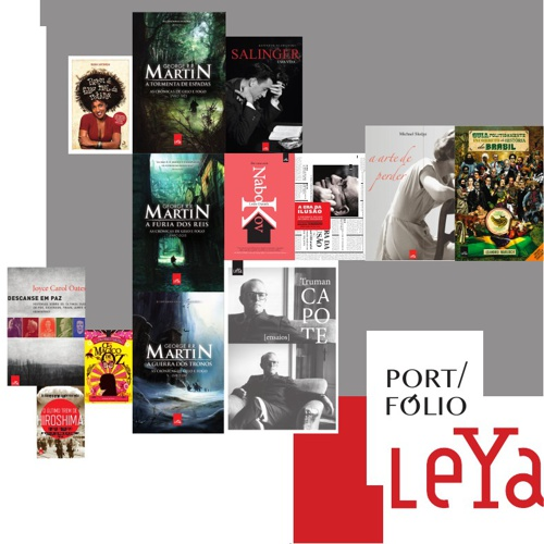 Peças Marketing Editora Leya
