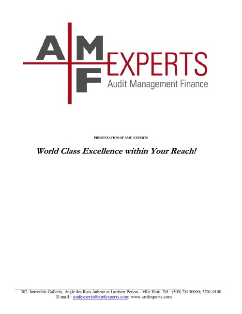 AMF_Experts