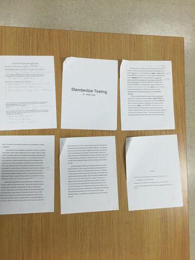 peer edit standardize testing