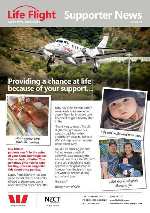 Life Flight Supporter News Issue 51