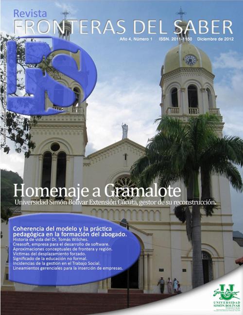 Revista Fronteras del Saber Año 4 No. 1