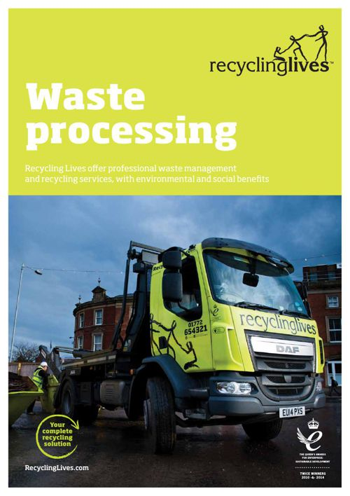 Recycling Lives Waste Processing