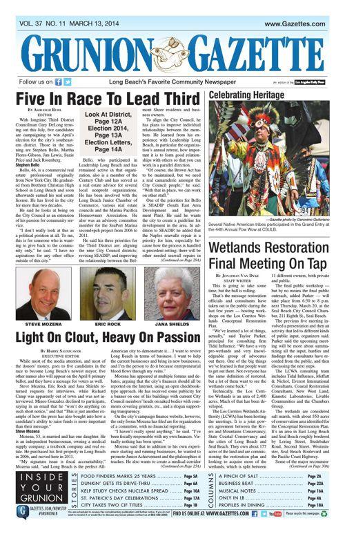 Grunion Gazette | March 13, 2014